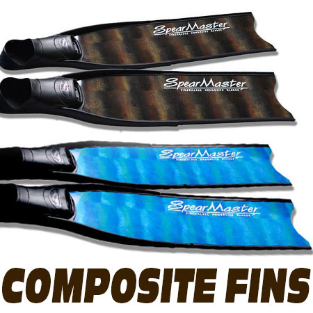 Composite Freediving Fins