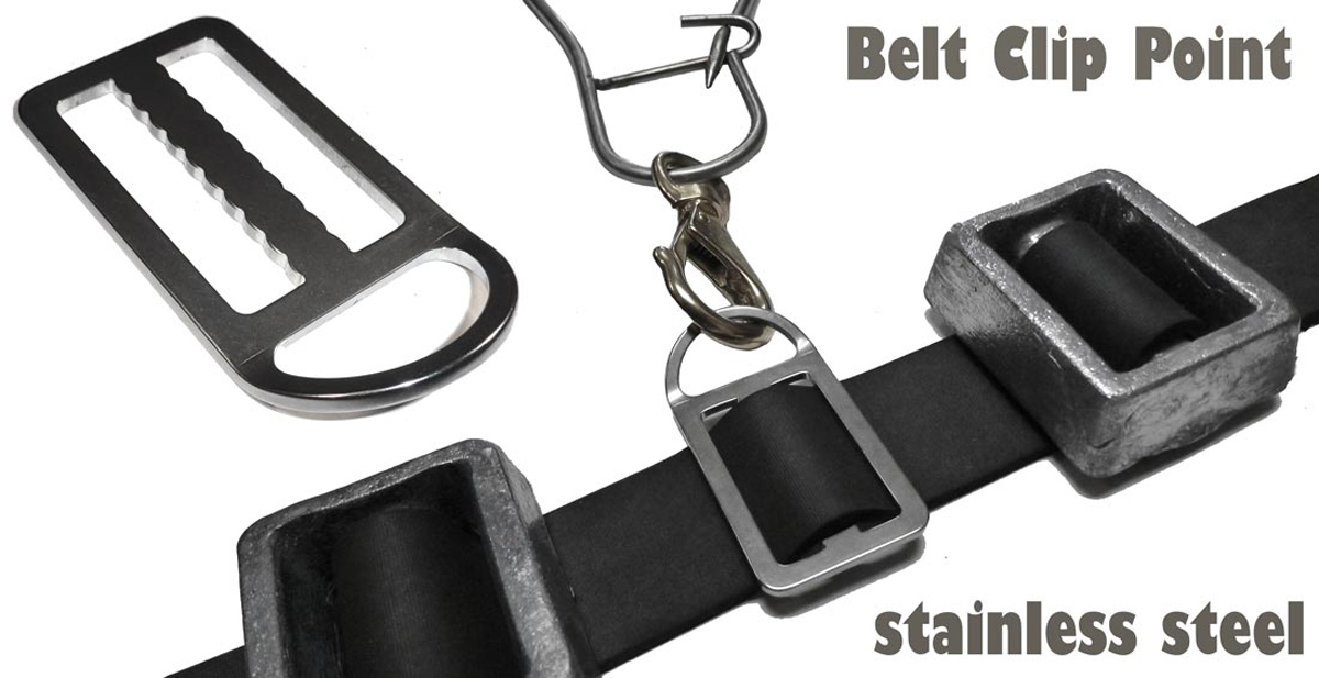 Spearfishing Belt Clip Point