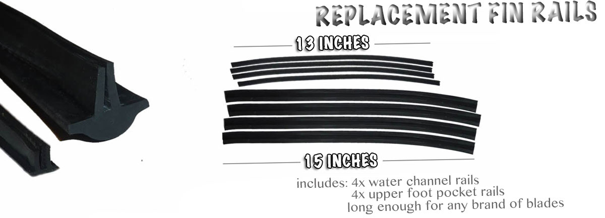 Replacement Fin Rails