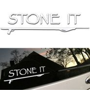 "11-inch ""Stone It"" Sticker"
