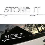 "11-inch ""Stone It"" Sticker"
