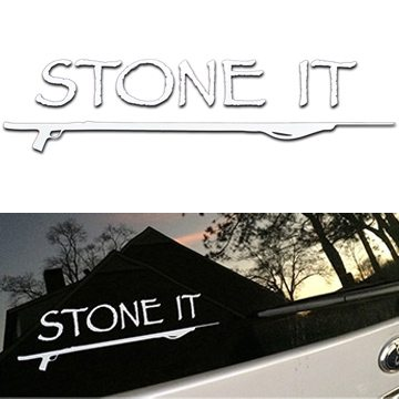 11 Inch Stoned It Sticker 1 1