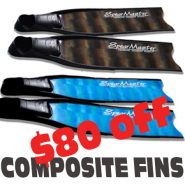 Spearmaster Composite Fins