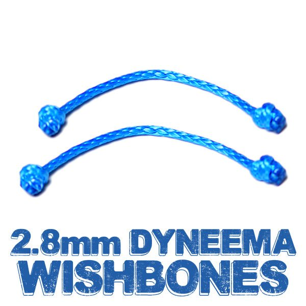 2.8mm Dyneema Wishbones