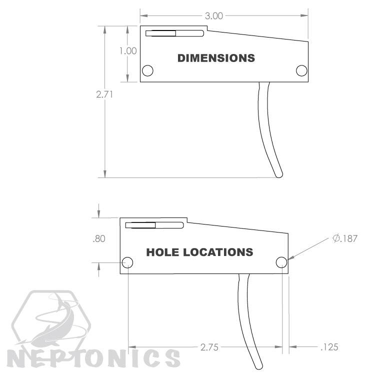 Reverse Mech Speargun Dimensions