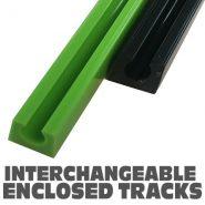 UHMW Enclosed Track