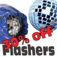 Disco Ball Flasher and Case