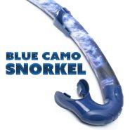 Blue Camo Snorkel