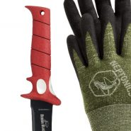 Bubba Blade & Dyneema Gloves Package