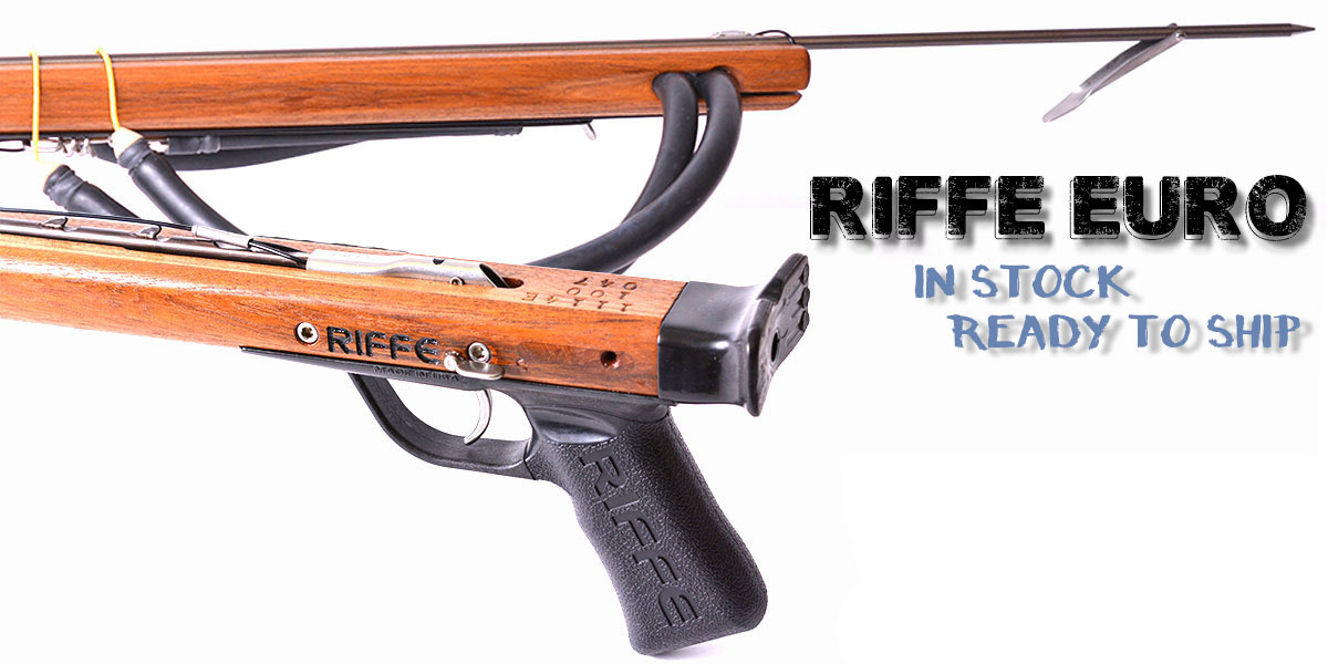 Riffe Euro Spearguns