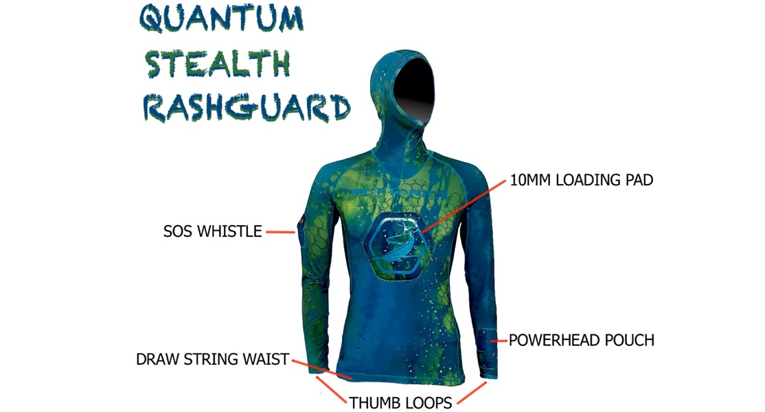 Neptonics Quantum Stealth Rash Guard Top