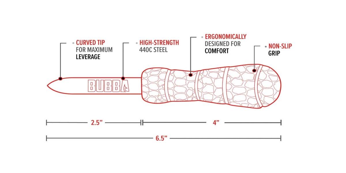 Bubba Blade™ Paddoc Shucking Knife